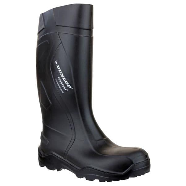 Dunlop Purofort+ Safety Wellingtons Black